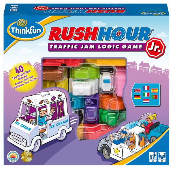 Rush Hour Jr. - ThinkFun - Thinkfun - Toys Center THINKFUN Unisex 12+ Anni, 8-12 Anni ALTRI