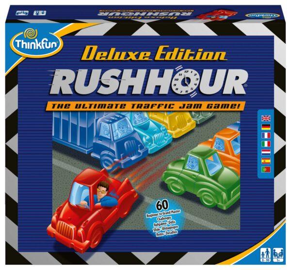 Rush Hour Deluxe - ThinkFun - Thinkfun - Toys Center THINKFUN Unisex 12+ Anni, 8-12 Anni ALTRI
