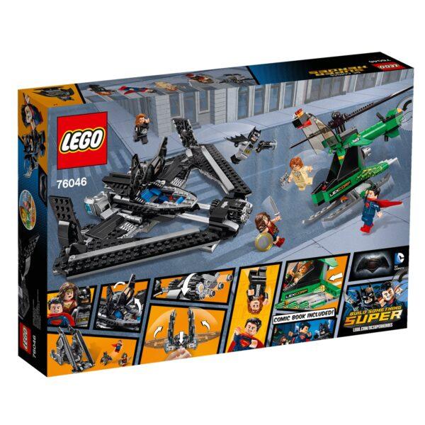 76046 - Eroi della Giustizia: battaglia nei cieli - Dc Comics - Toys Center BATMAN Maschio 12+ Anni, 5-8 Anni, 8-12 Anni DC COMICS