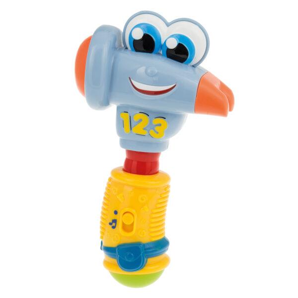 CLEMENTONI - 14897 - Donatello Martello Parlante - Baby Clementoni - Toys Center - BABY CLEMENTONI - Giochi di intrattenimento e tablet