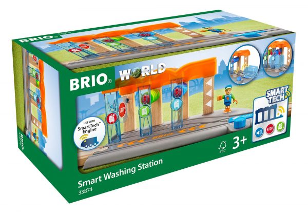 BRIO Smart Tech Autolavaggio per locomotiva intelligente - Brio Accessori - Toys Center ALTRI Unisex 12-36 Mesi, 3-5 Anni, 5-8 Anni, 8-12 Anni BRIO ACCESSORI