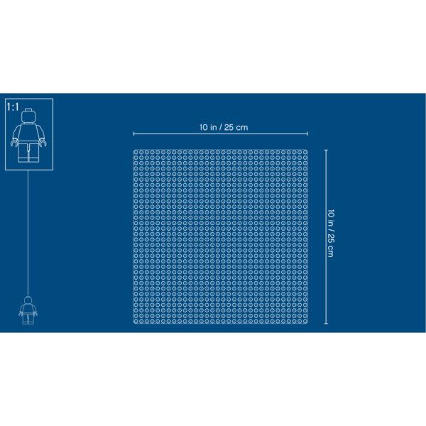 10714 - Base blu ALTRI Unisex 12+ Anni, 3-5 Anni, 5-8 Anni, 8-12 Anni LEGO CLASSIC