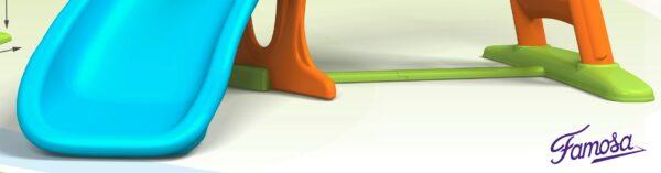 Scivolo Feber Con Curva - Feber - Toys Center Unisex 12-36 Mesi, 3-4 Anni, 3-5 Anni, 5-7 Anni, 5-8 Anni ALTRI FEBER