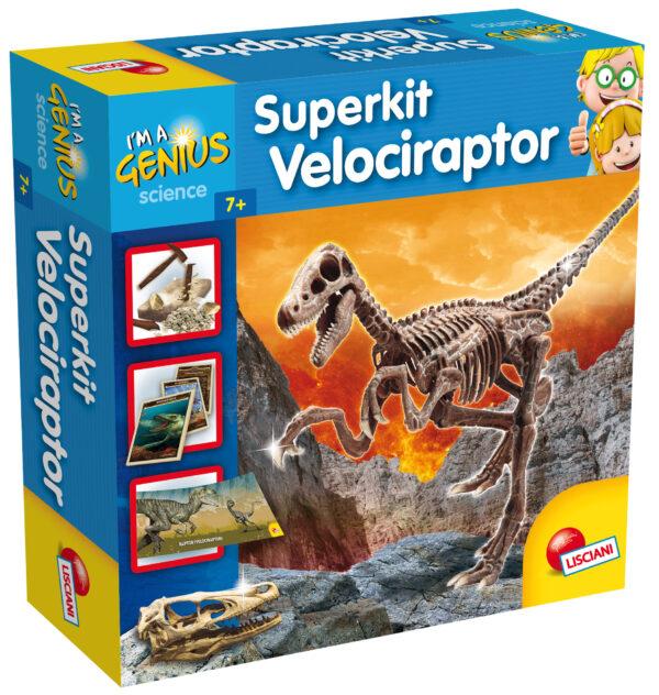 I'm a genius super kit velociraptor - I'M A GENIUS - Giochi educativi, musicali e scientifici