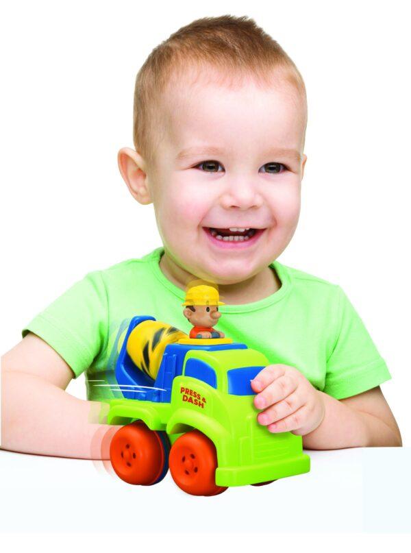 ALTRI BABY SMILE Unisex 0-12 Mesi, 12-36 Mesi, 3-5 Anni, 5-8 Anni BABY SMILE Veicoli spingi e vai