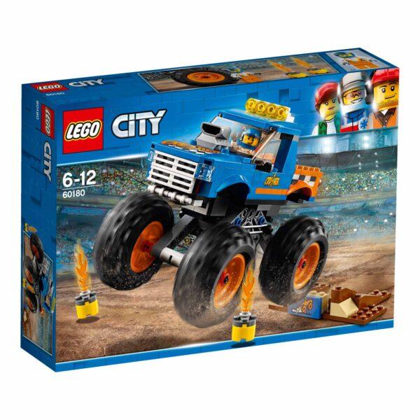 LEGO 60180 - Monster Truck LEGO CITY Maschio 12+ Anni, 5-8 Anni, 8-12 Anni ALTRI