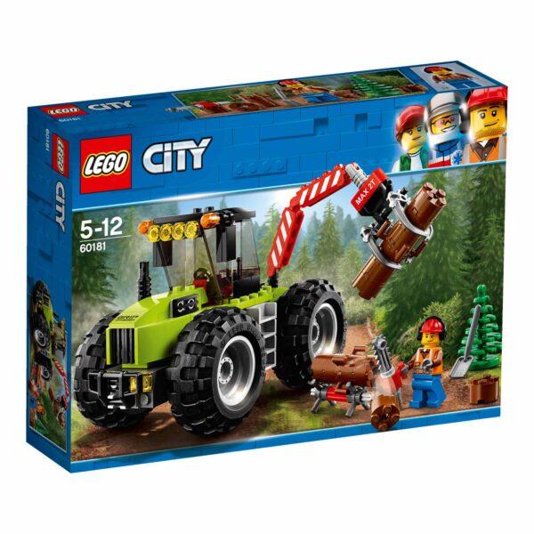 60181 - Trattore forestale - Lego Back to School - LEGO - Marche LEGO CITY Maschio 12+ Anni, 3-5 Anni, 5-8 Anni, 8-12 Anni ALTRI