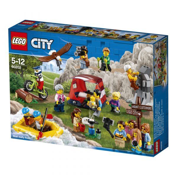 LEGO CITY ALTRI LEGO People Pack - Avventure all'aria aperta - 60202 Unisex 12+ Anni, 5-8 Anni, 8-12 Anni