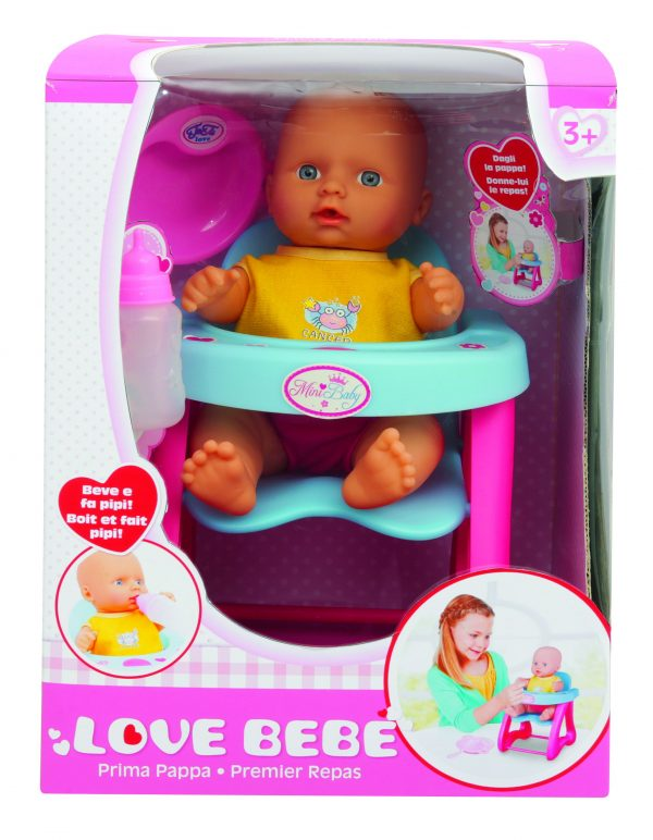 LOVE BEBÈ Bebé prima pappa TOYS CENTER Femmina 12-36 Mesi LOVE BEBÈ