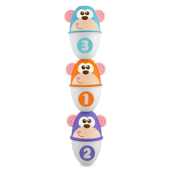 Chicco ALTRI Monkey Strike Unisex 0-2 Anni, 12-36 Mesi, 3-4 Anni, 3-5 Anni, 5-8 Anni