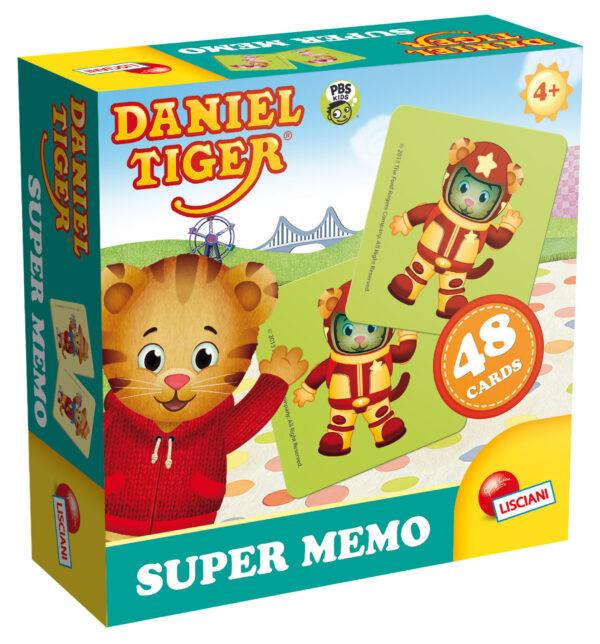 Daniel tiger supermemo MEMORY Unisex 3-4 Anni, 3-5 Anni, 5-7 Anni, 5-8 Anni, 8-12 Anni DANIEL TIGER