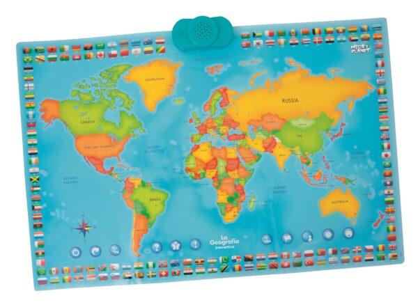 MICRO PLANET Cartina interattiva ALTRI Unisex 12+ Anni, 5-8 Anni, 8-12 Anni MICROPLANET
