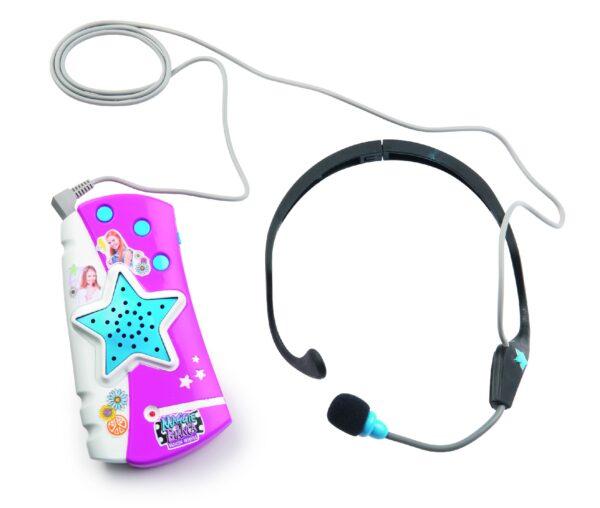 Maggie e Bianca - Microfono + auricolare - Smoby - Toys Center Maggie & Bianca Femmina 12+ Anni, 8-12 Anni SMOBY