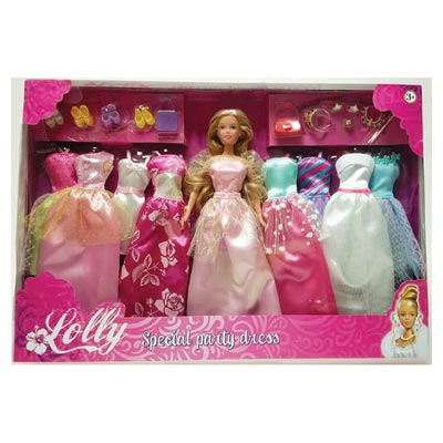 DELUXE DRESS SET - TOYS CENTER - Vestiti e accessori per fashion dolls