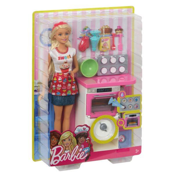 ALTRI Barbie Femmina 12-36 Mesi, 12+ Anni, 8-12 Anni Barbie - Playset Pasticceria