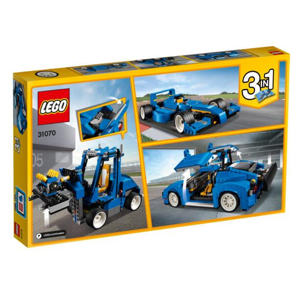 31070 - Auto da corsa - Lego Creator - Toys Center ALTRI Maschio 12+ Anni, 8-12 Anni LEGO CREATOR