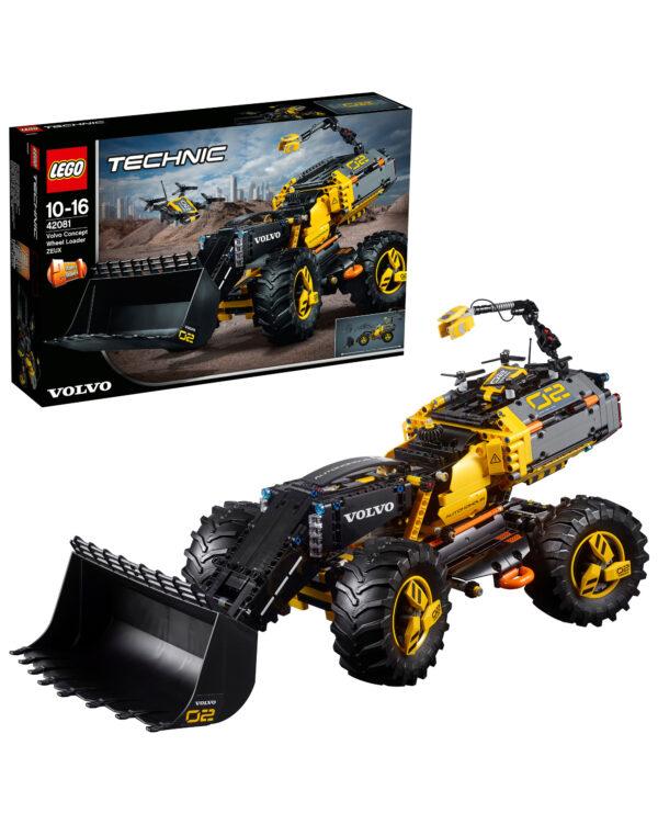 LEGO TECHNIC - Volvo Ruspa gommata ZEUX - 42081 LEGO TECHNIC Unisex 12+ Anni, 8-12 Anni ALTRI