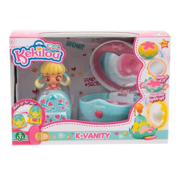 Kekilou Mini Vanity Playset, doll LOVEY - Altro - Toys Center ALTRO Femmina 3-5 Anni, 5-8 Anni, 8-12 Anni ALTRI