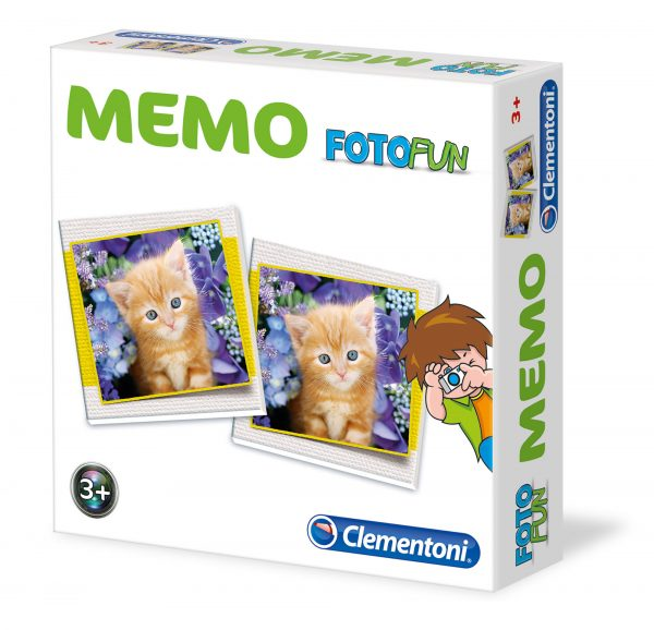 CLEMENTONI - 12834 - Memo Games Cuccioli SAPIENTINO Unisex 12-36 Mesi, 3-4 Anni, 3-5 Anni, 5-7 Anni, 5-8 Anni ALTRI