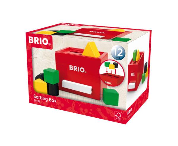 BRIO scatola per classificare rossa BRIO Unisex 0-12 Mesi, 0-2 Anni, 12-36 Mesi ALTRI