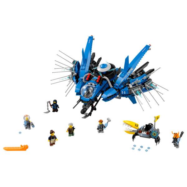 70614 - Jet-fulmine - Lego Ninjago - Toys Center - LEGO NINJAGO - Costruzioni