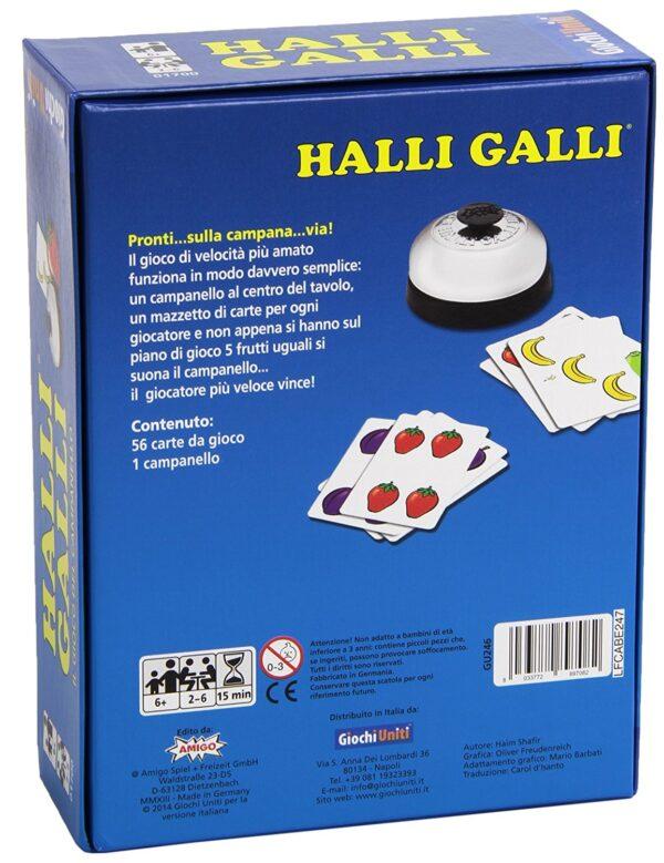 HALLI GALLI - Altro - Toys Center ALTRI Unisex 12+ Anni, 8-12 Anni ALTRO