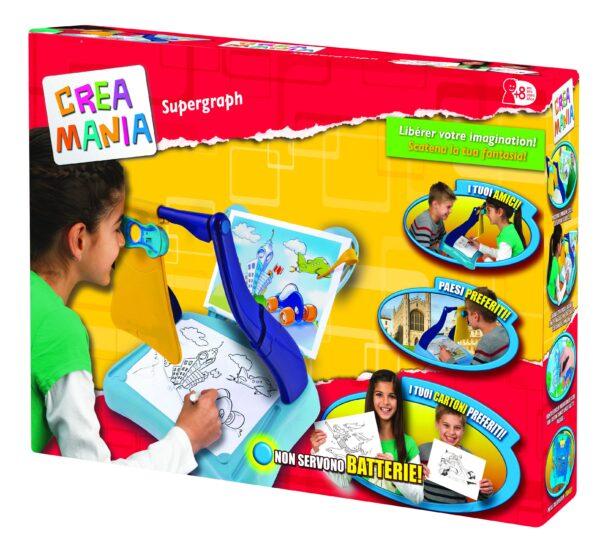 SUPERGRAPH - Toys Center - Toys Center TOYS CENTER Unisex 12+ Anni, 5-8 Anni, 8-12 Anni CREAMANIA
