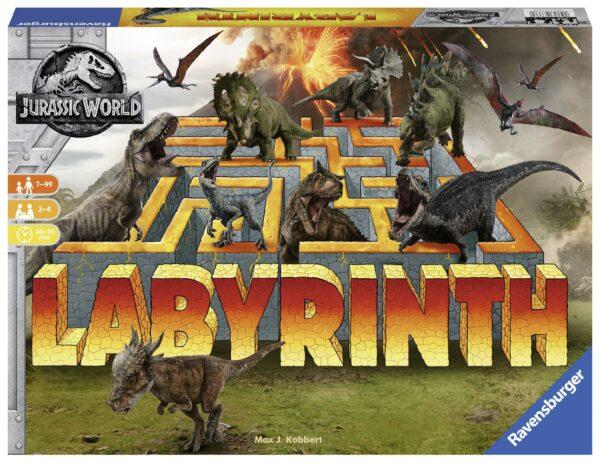 Labirinto Jurassic World - Gioco di società Ravensburger - BRIO Labirinto - BRIO games - BRIO - Linee LABIRINTO Unisex 12+ Anni, 8-12 Anni JURASSIC WORLD