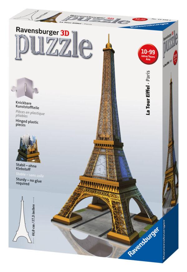 Puzzle 3D Tour Eiffel - Ravensburger Puzzle 3d - Toys Center - RAVENSBURGER PUZZLE 3D - Puzzle 3D