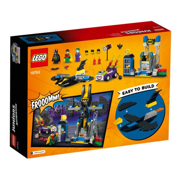 10753 - Attacco alla bat-caverna di The Joker™ - Lego Juniors - Toys Center ALTRI Maschio 3-5 Anni, 5-8 Anni LEGO JUNIORS