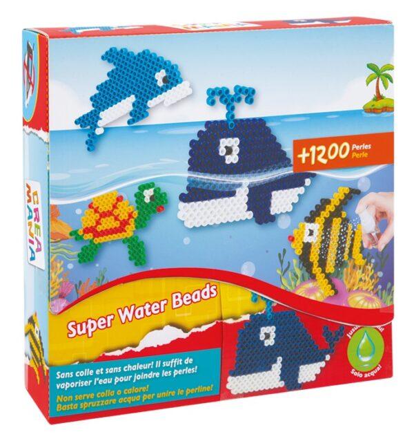 SUPER WATER BEADS OCEAN - Toys Center - Toys Center TOYS CENTER Unisex 12+ Anni, 3-5 Anni, 5-8 Anni, 8-12 Anni CREAMANIA
