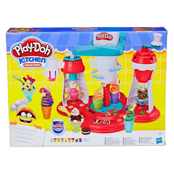 Play-Doh – La Fabbrica dei gelati PLAY-DOH Unisex 12-36 Mesi, 12+ Anni, 3-5 Anni, 5-8 Anni, 8-12 Anni ALTRI
