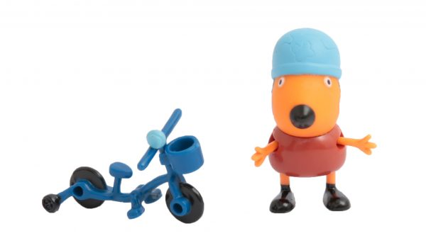 Peppa Pig Personaggio con Accessorio,  Freddy e la Bicicletta - PEPPA PIG - Action figures