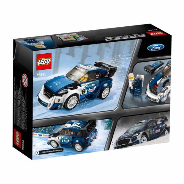 75885 - Ford Fiesta M-Sport WRC - Lego Speed Champions - Toys Center - LEGO SPEED CHAMPIONS - Costruzioni