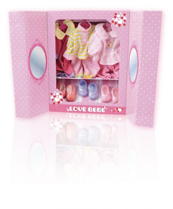 LOVE BEBÈ My beauty girl set LOVE BEBÈ Femmina 12-36 Mesi, 3-5 Anni, 5-8 Anni TOYS CENTER