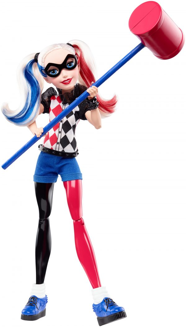 DC SUPER HERO GIRLS HARLEY QUINN Harley Queen 30 cm - DC SUPER HERO GIRLS - Personaggi Femmina
