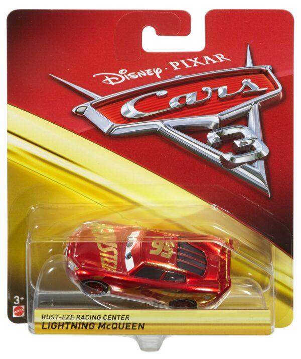 Cars - Saetta McQueen Rust-eze Racing Center Veicolo Personaggio Die-cast - DXV45 DISNEY - PIXAR Maschio 12-36 Mesi, 12+ Anni, 3-5 Anni, 5-8 Anni, 8-12 Anni CARS