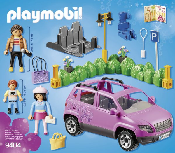 FAMIGLIA AL PARCHEGGIO DELL'OUTLET - Playmobil - City Life - Toys Center - Playmobil City Life - Altri giochi per l'infanzia