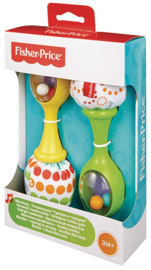 mattel-fisher price-infant-BLT33-LE MARACAS - Fisher-price - Toys Center ALTRI Unisex 0-12 Mesi, 0-2 Anni, 12-36 Mesi FISHER-PRICE