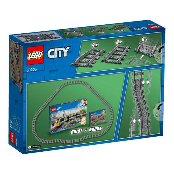 60205 - Binari - LEGO CITY - Costruzioni