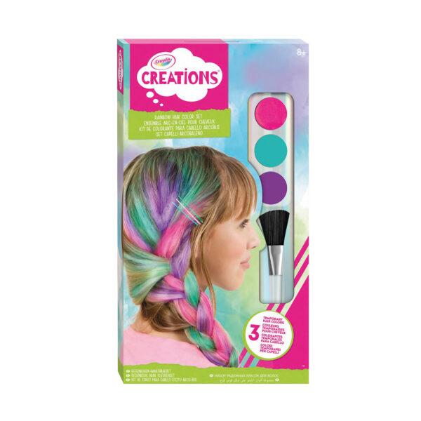 Capelli Arcobaleno Color Set Crayola Creations ALTRO Femmina 12+ Anni, 5-8 Anni, 8-12 Anni ALTRI