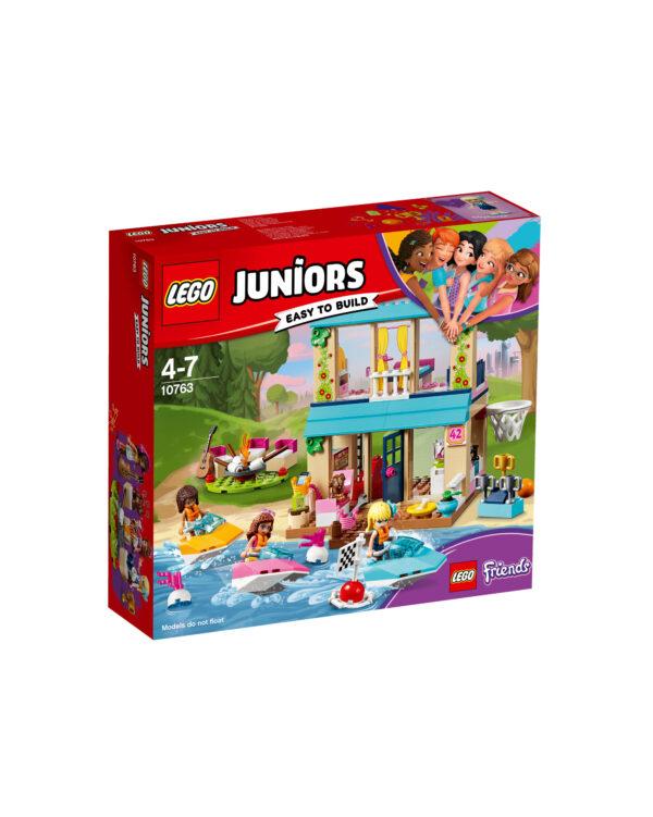 LEGO JUNIORS ALTRI 10763 - La casa sul lago di Stephanie - Lego Juniors - Toys Center Unisex 3-5 Anni, 5-8 Anni