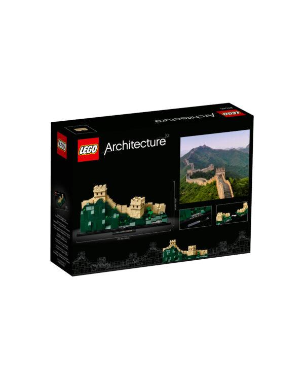 21041 - Grande Muraglia cinese - Lego Architecture - Toys Center ALTRI Unisex 12+ Anni, 8-12 Anni LEGO ARCHITECTURE