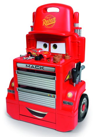 Cars 3 Mack Truck Trolley - Smoby - Toys Center SMOBY Maschio 12-36 Mesi, 12+ Anni, 3-5 Anni, 5-8 Anni, 8-12 Anni CARS