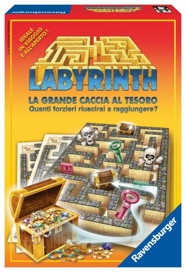 Labyrinth La Grande Caccia al Tesoro LABIRINTO Unisex 12+ Anni, 5-7 Anni, 5-8 Anni, 8-12 Anni ALTRI