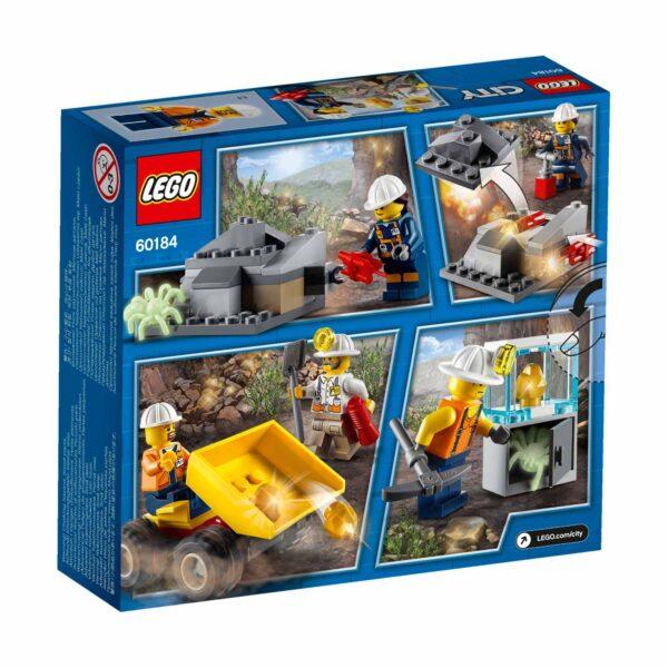 LEGO City - Team della miniera -  60184 ALTRI Maschio 12+ Anni, 3-5 Anni, 5-8 Anni, 8-12 Anni LEGO CITY