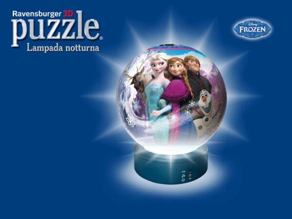 LAMPADA NOTTURA: FROZEN - Disney - Toys Center Disney Frozen Femmina 3-5 Anni, 5-7 Anni, 5-8 Anni, 8-12 Anni Disney