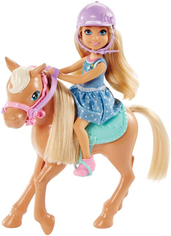 Barbie - Chelsea e il Pony, per tante nuove avventure - DYL42 - Barbie - Fashion dolls
