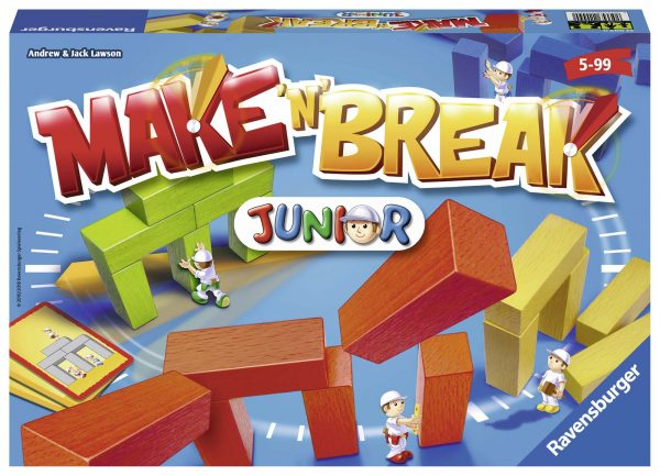 Make'n' Break Junior - Gioco di società Ravensburger 22009 RAVENSBURGER CLASSIC Unisex 12+ Anni, 3-5 Anni, 5-8 Anni, 8-12 Anni ALTRI