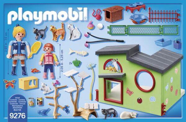 RESIDENZA DEI GATTI - Playmobil - City Life - Toys Center ALTRI Unisex 12+ Anni, 3-5 Anni, 5-8 Anni, 8-12 Anni Playmobil City Life